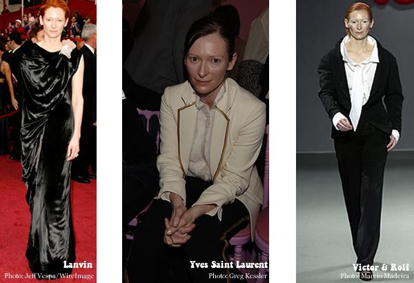 Style icon Tilda Swinton