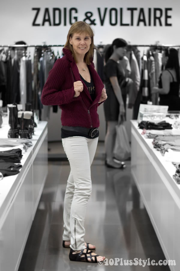 Zadig & Voltaire Singapore - fall 2011 collection and preview spring 2012 collection
