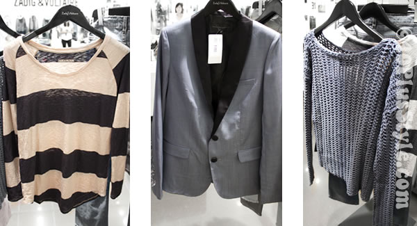 Zadig & Voltaire 2012 spring collection preview