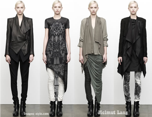 Helmut Lang 2012 prefall for women over 40