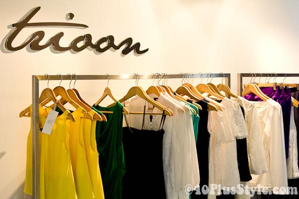Trioon Singapore label