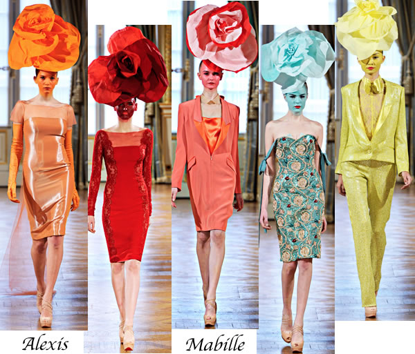 Alexis Mabille dresses Spring 2012