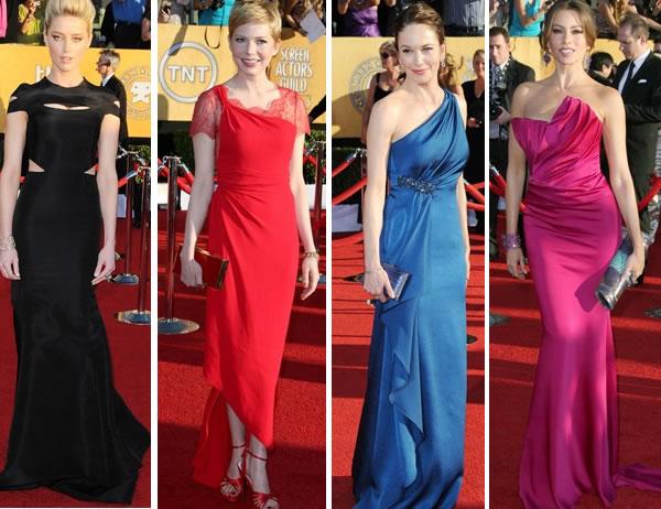 best dresses from sag awards