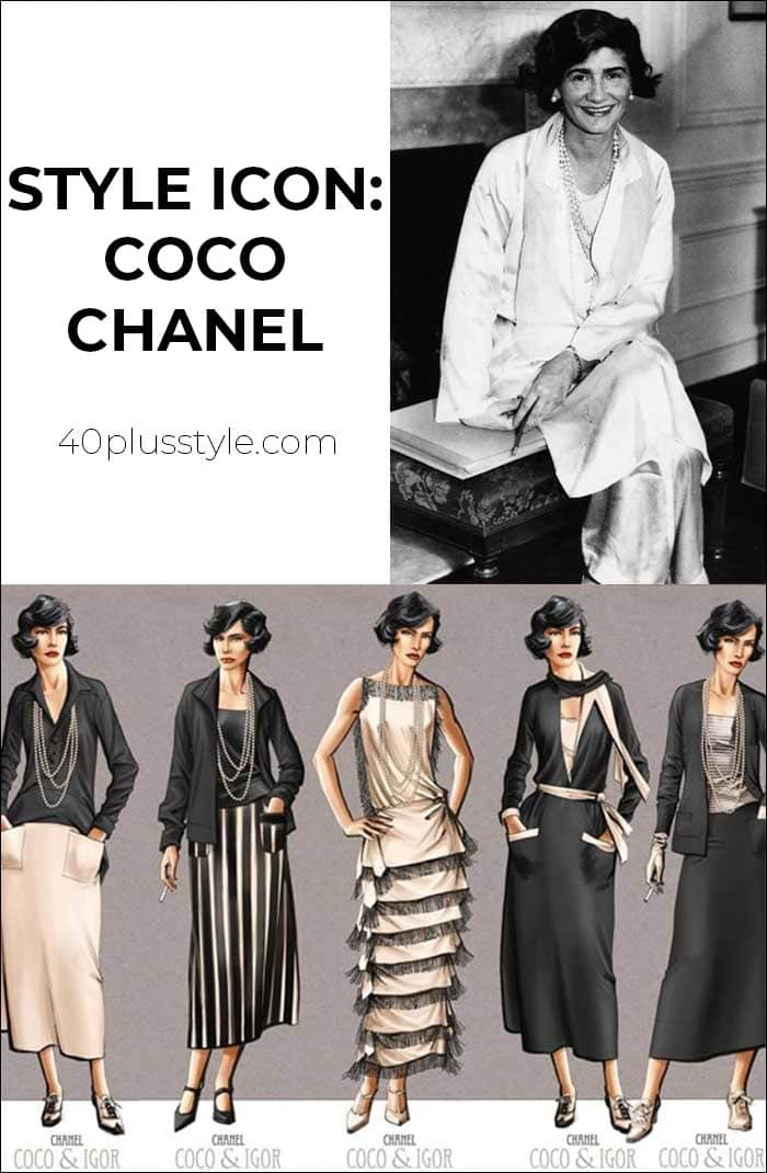 Style icon Coco Chanel   40plusstyle.com
