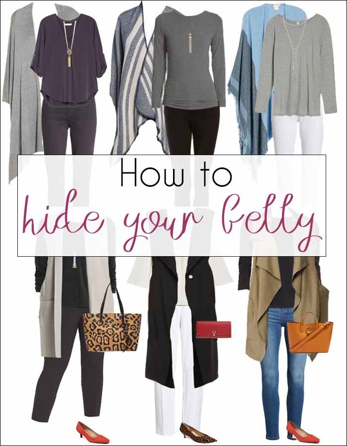 11 sure fire ways to hide your belly with the right clothes | 40plusstyle.com