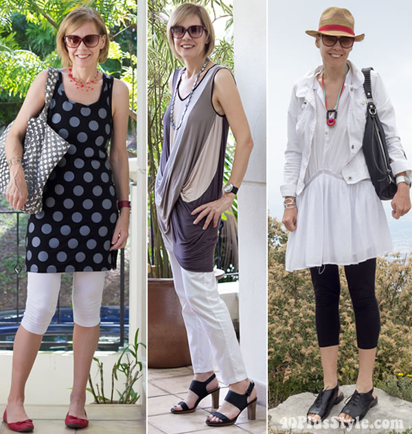 how to hide your belly with tunics | 40plusstyle.com