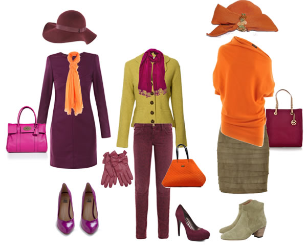 Orange Color Combinations 40plusstyle