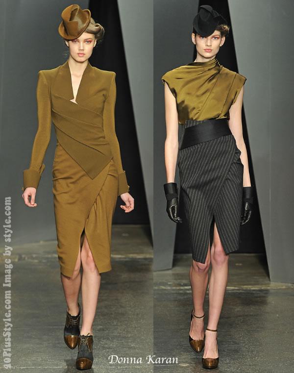 Donna Karan fall 2012 collection best dresses fo women