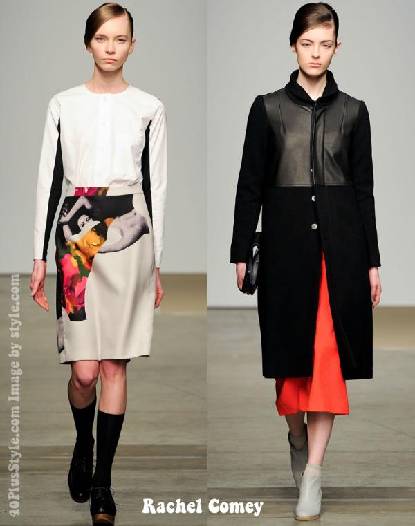 Rachel Comey fall 2012 collection highlights
