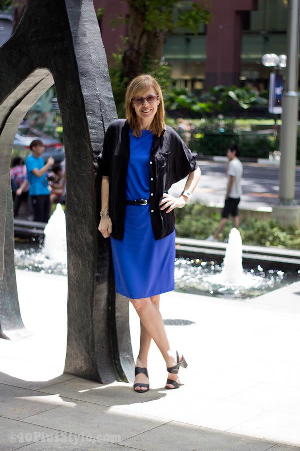 Dresstronomy blue cobalt dress