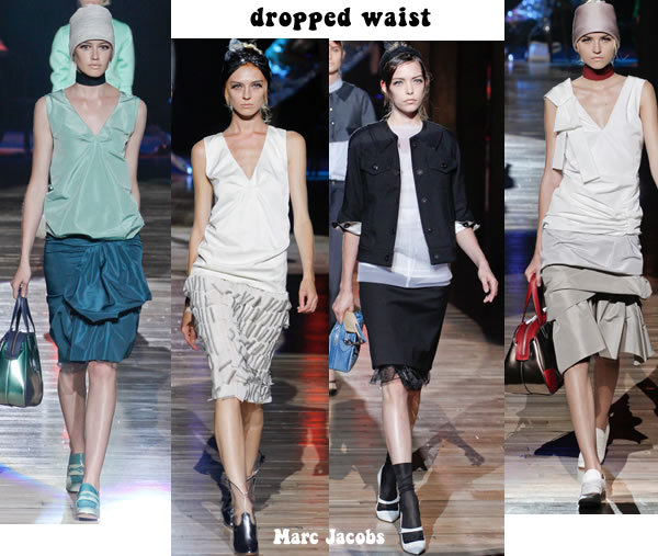 Dropped waist spring 2012 trend