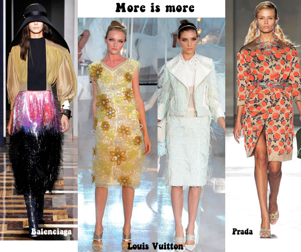 More is more trend with lots of prints