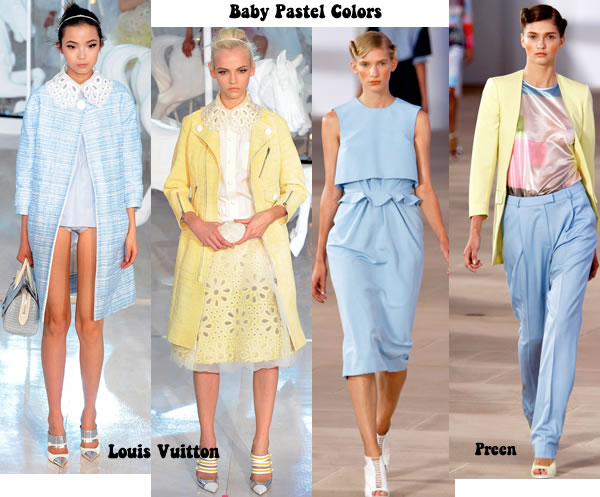 baby pastel colors