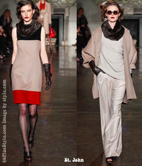 St. John fall 2012 collection