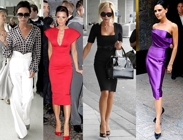 Victoria Beckham - How to dress when you are petite | 40plusstyle.com