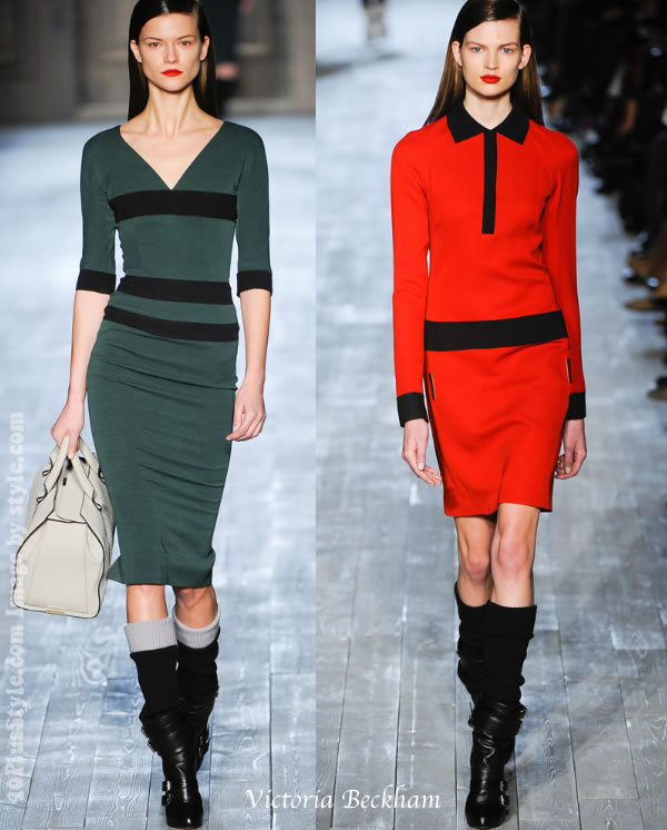 Victoria Beckham Fall 2012 collection