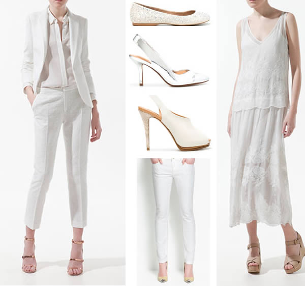 2012 Spring trend all white