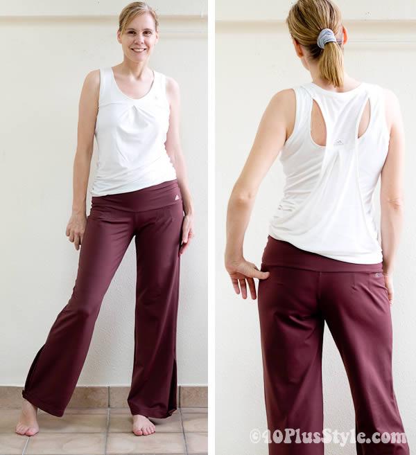 Adidas yoga clothes