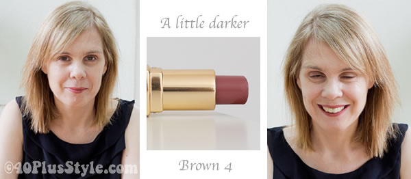 Bobbi Brown lipstick review brown 4