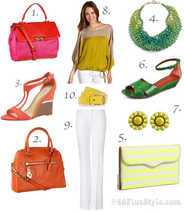 Bright trend accessories