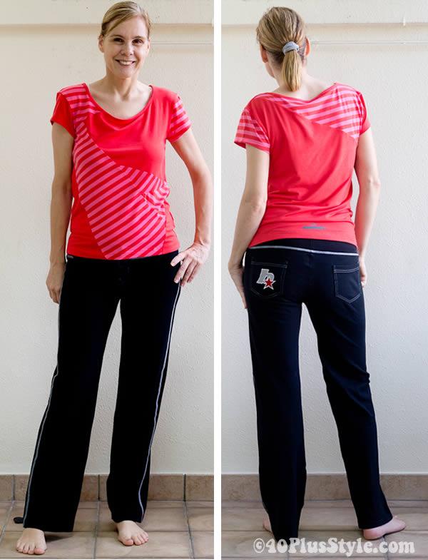 bright yoga clothing