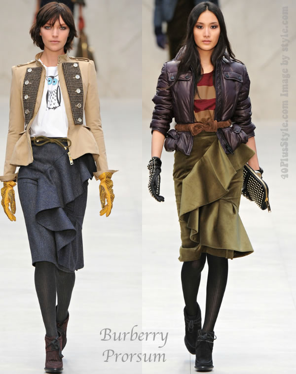 Burberry Prorsum 2012 Fall collections