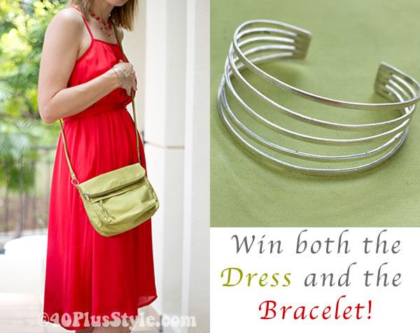 dress and bracelet giveaway