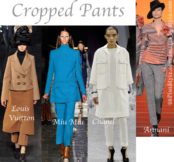 trends for fall 2012 cropped pants