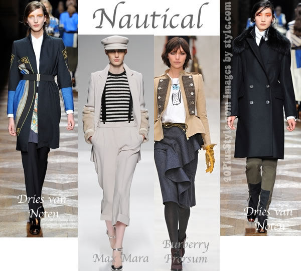Fall 2012 trends and themese nautical