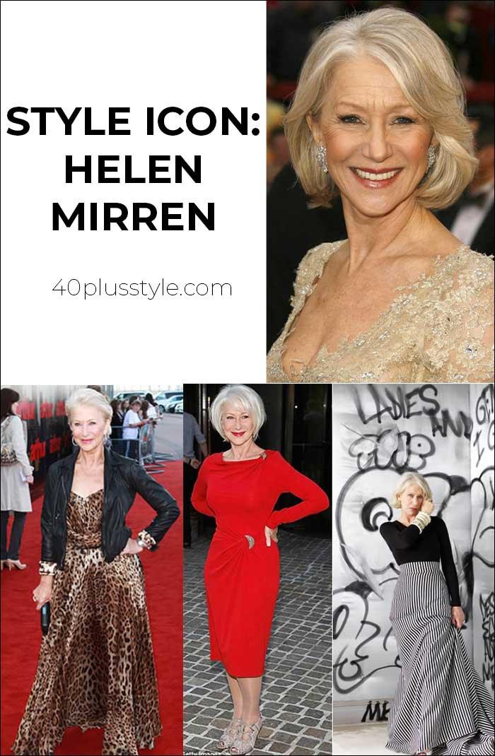 Style icon: Helen Mirren   40plusstyle.com