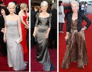 Helen Mirren fashion style icon| 40plusstyle.com