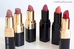 Lipstick review of Bobbi Brown makeup | 40plusstyle.com