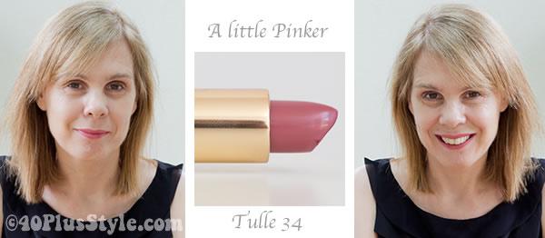 Pink Bobbi Brown lipstick 34