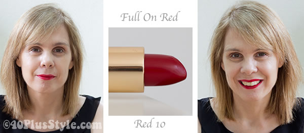 lipstick review red bobbi brown