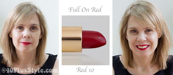 lipstick review red bobbi brown