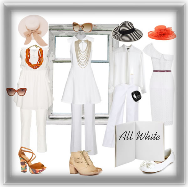 Spring 2012 trend all white