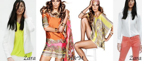 Bring on the brights for Spring 2012
