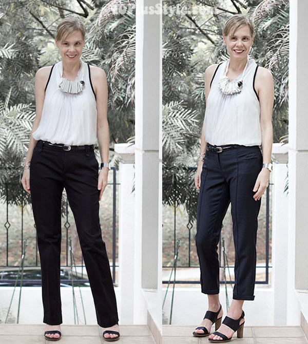 What To Wear With Cropped Pants 40plusstyle