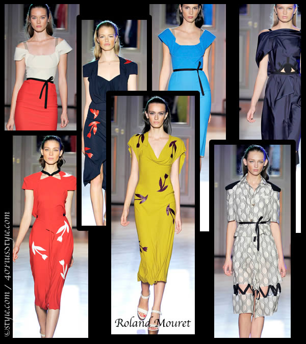 Roland Mouret Spring 2012 collection