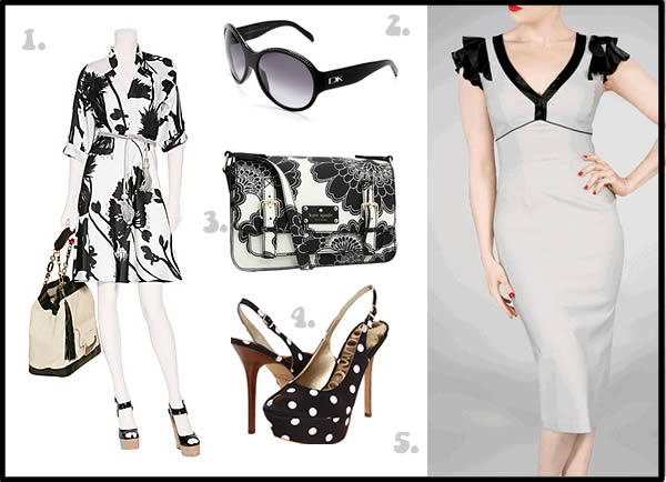 Spring 2012 trend black and white
