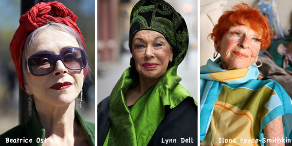 colorful older women