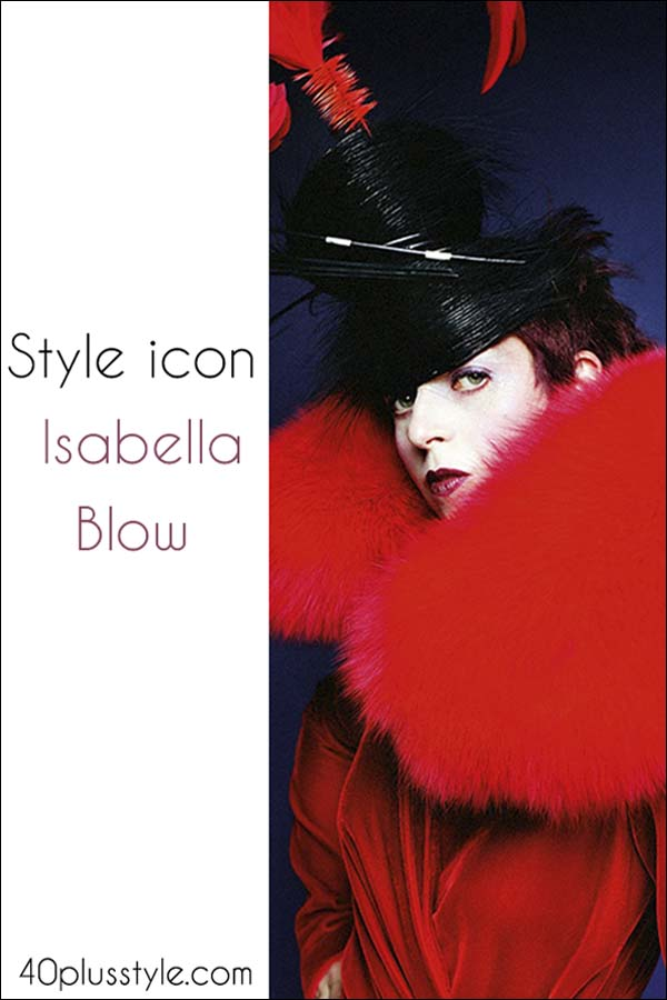 style icon isabella blow  | 40plusstyle.com