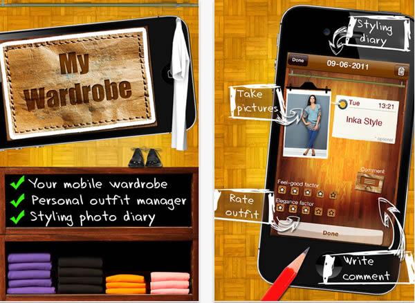 My wardrobe manager app