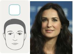 square rectangle face shape | 40plusstyle.com