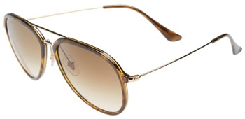 Ray-Ban 57mm pilot sunglasses | 40plusstyle.com
