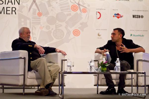 Nicola Formichetti at Asia Fashion Summit in Singapore