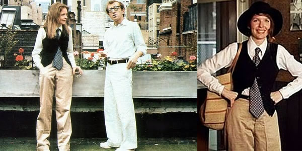 Style icon: Diane Keaton – Champion of the dandy style