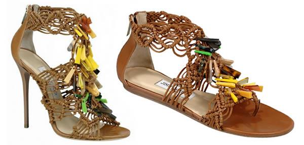 Iris Apfel Jimmy Choo shoe
