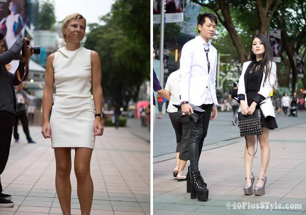 Mugler Fashion show Singapore