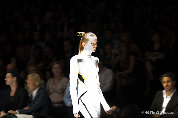 Mugler Fashion show Singapore 2012